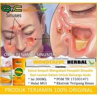 Obat Herbal Sinusitis Kronis Asli 100% Alami - Halal | QnC Jelly Gamat