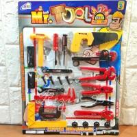 Mainan Anak Tools Set Perkakas Pertukangan Anak - Mainan Edukasi Anak