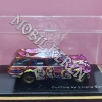Hot Wheels Custom 71 Datsun Bluebird 510 Wagon Japspeed Pink
