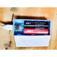 Casing Power Bank 2 slot / DIY PowerBank / Charger baterai 18650