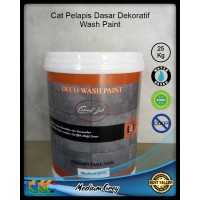 Cat Emulsi Primer Medium Grey 25Kg - Deco Wash Paint