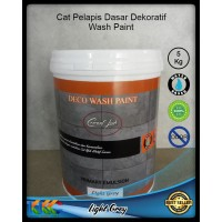 Cat Emulsi Primer Light Grey 5Kg - Deco Wash Paint