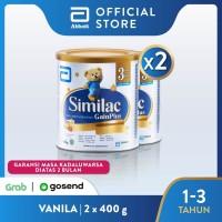 Similac GainPlus 400 g (1-3 tahun) Susu Pertumbuhan - 2 klg