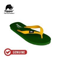 Fipper Classic / Sandal Jepit Unisex / Green Emerald Yellow