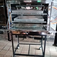 oven gas stainless 0,4