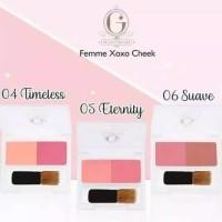 Madame Gie Femme Cheek Xoxo Blush On (100% Original)