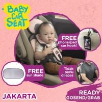 IMUNDEX Baby Car Seat / Portable Car Seat dudukan mobil bayi / anak - Biru Muda