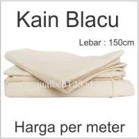 Kain Blacu Belacu Blaco kanvas lukis Meteran lebar 150cm