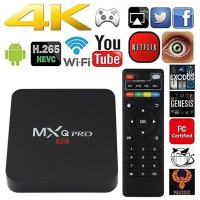 Android TV Box MXQ PRO 4K New Chipset OS Smart TV BOX FULL HD ULTRA HD