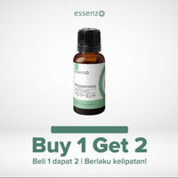 Essenzo Peppermint Essential oil - 10ml ( Meredahkan FLU dan Migran)