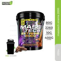Muscletech Masstech Extreme 2000 Gainer 22lbs 22 lbs 22lb