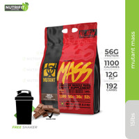 Mutant Mass 15lbs Gainer Protein