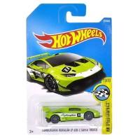 Hot Wheels Lamborghini Huracan LP 620-2 Super Trofeo Hijau HW Speed G