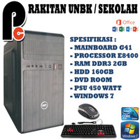 KOMPUTER PC CPU RAKITAN UNBK SIAP PAKAI MURAH MERIAH
