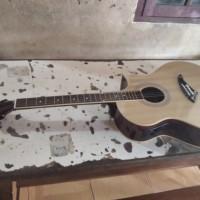 gitar cort akustik elektrik