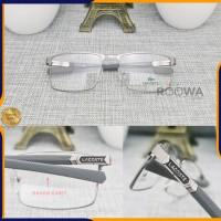 PREMIUM (FREE LENSA UV) Frame Kacamata Minus Baca Pria Lacoste L220