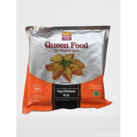 Queen food egg chicken roll 16s 350gr