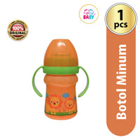BABY SAFE SOFT SPOUT TRAINING SIPPY CUP 125ML #03 - Orange