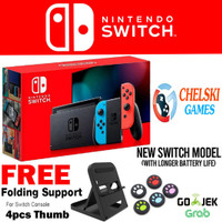 Nintendo Switch Neon Blue / Neon Red (New)