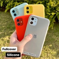 Premium Silicone Case iPhone 11 Softcase Polos Casing FULL COVER