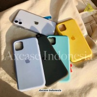 Premium Silicone Case iPhone 11 PRO Softcase Polos Casing FULL COVER