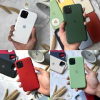 Premium Silicone Case Iphone 11, 11 Pro, 11 Pro Max Merah & Hijau