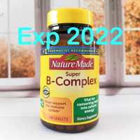 Nature Made Super B-Complex with Vitamin C 140 Tablets