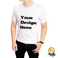 Kaos Baju Tshirt dewasa Custom design sendiri