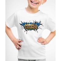 Kaos Baju anak logo Mobile Legends