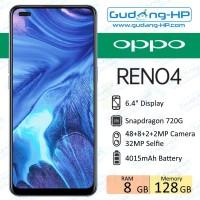 Oppo Reno 4 8/128 GB Garansi Resmi