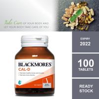 Blackmores Cal-D Calcium 600 mg/Vitamin D3 500 IU, 100 Tablets