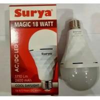 Lampu LED emergency Surya Magic 18w 18 watt,tetap nyala saat PLN padam