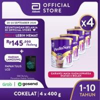 Pediasure Coklat 400 g (1-10 tahun) Susu Formula Pertumbuhan - 4 klg