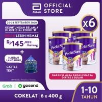 Pediasure Coklat 400 g (1-10 tahun) Susu Formula Pertumbuhan - 6 klg
