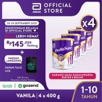 Pediasure Vanila 400 g (1-10 tahun) Susu Formula Pertumbuhan - 4 klg