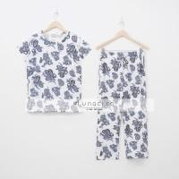 Lunaci White Ethnic Pyjamas