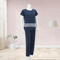 Lunaci Plain Navy Pyjamas