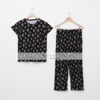 Lunaci Black Ethnic Pyjamas