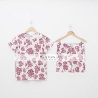 Lunaci Pink Ethnic Short Pyjamas