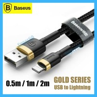 Baseus Lightning Cable Kabel Data Fast Charging iPhone 1m 2m Type C PD