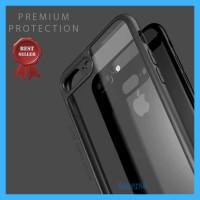 Casing iPhone X 6 7 8 Plus Premium Transparan Clear Thin Soft Case - X atau XS