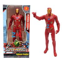 Mainan Anak Figure Super Hero TSR 004 ada Lampu
