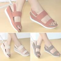 Sepatu Sandal JECK 687S Wanita Tali Casual Santai Cantik Sendal