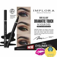 Implora Black Eyeliner Pen Waterproof and Dramatic Look 1.7g