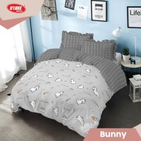 Kintakun DLuxe Bed Cover Set Uk. 180x200 Motif - Bunny