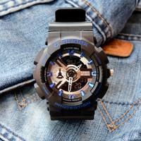 PALING LAKU !!! G Shock GA-110 HITAM Army Jam tangan pria