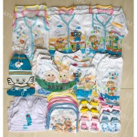 Paket Hemat Perlengkapan Baju Bayi Baru Lahir (New Born) PAHE PAKAIAN