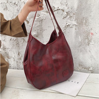 TAS TOTE BAG Tas wanita import set tas bahu tas selempang kulit PU 137