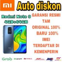 Xiaomi Redmi Note 9 4/64 RAM 4Gb ROM 64Gb New Garansi Resmi