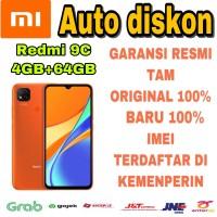 Xiaomi Redmi 9C 4/64 RAM 4Gb ROM 64Gb New Garansi Resmi